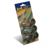 Military colour set 32340 - (Revell 6x14ml)