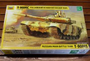 Model Kit tank 3675 - T-90 MS Russian MBT (Zvezda 1:35)