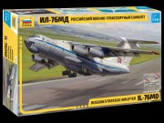 Model Kit letadlo 7011 - Russian strategic airlifter IL-76MD (Zvezda 1:144)