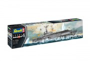 Plastic ModelKit loď 05164 - German Aircraft Carrier GRAF ZEPPELIN (Revell 1:720)