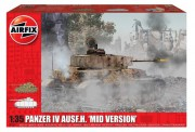 Classic Kit tank A1351 - Panzer IV Ausf.H,  Mid Version (Airfix 1:35)
