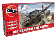 Classic Kit letadlo A05136 - North American F-51D Mustang (Airfix 1:48)
