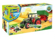 Junior Kit traktor 00817 - Tractor & Trailer incl. figure (Revell 1:20)