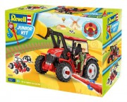 Junior Kit traktor 00815 - Tractor with loader incl. figure (Revell 1:20)
