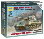Wargames (WWII) 6204 - King Tiger Ausf. B - German heavy tank (Zvezda 1:100)