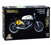 Model Kit motocykl 4602 - NORTON MANX 500cc 1951 (Italeri 1:9)