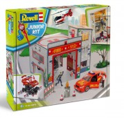 Junior Kit playset 00850 - Fire Station (Revell 1:20)