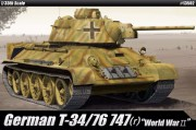 German T-34/76 747(r) (Academy 1:35)