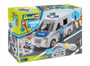 Junior Kit auto 00811 - Police Van (Revell 1:20)
