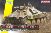 Model Kit tank 6815 - Vollkettenaufklaerer 38 w/7.5cm Kanone 51 L/24 (Dragon 1:35)