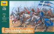 Wargames (AoB) figurky 8036 - French Knights (re-release) (Zvezda 1:72)