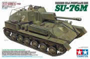Tamiya model tanku 35348 -   Russian Self-Propelled Gun - SU-76M (Tamiya 1:35)