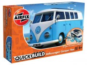 Quick Build auto J6024 - VW Camper Van - modrá (Airfix)