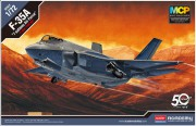 Model Kit letadlo 12561 - F-35A Seven Nation Air Force MCP (1:72)