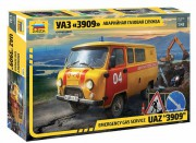 Model Kit auto 43003 – Emergency gas service UAZ 3909 (1:43)