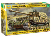 Model Kit tank 3653 - Sd.Kfz.184 Ferdinand (Zvezda 1:35)