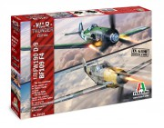 Model Kit War Thunder 35101 - BF109 F-4 and FW 190 D-9 (Italeri 1:72)