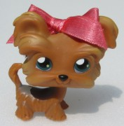LITTLEST PET SHOP pes jorkšír  +  magnet LPS 6