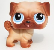 LITTLEST PET SHOP pes pejsek - mops LPS 1312  2589