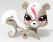 LITTLEST PET SHOP veverka ( SKUNK )  LPS 3609