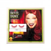 Devil Dame Make-up - čertice