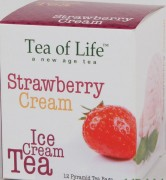 Tea of Life Ice Cream ČAJ  Jahodový krém 12x2g