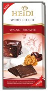 Heidi Winter Delight Walnut Brownie Hořká čokoláda s Brownie krémem 110g