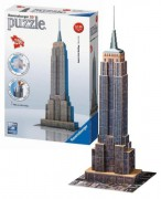 PUZZLE EMPIRE STATE BUILDING 3D