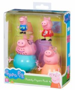 TM TOYS PRASÁTKO PEPPA PIG SET FIGUREK 4 KS