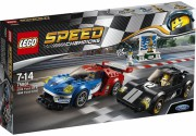 LEGO® SPEED CHAMPIONS 75881 - 2016 Ford GT & 1966 Ford GT40