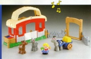 FISHER PRICE LITTLE PEOPLE hudební stáj