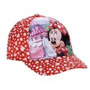 Kšiltovka MINNIE MOUSE red