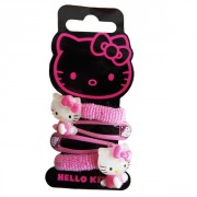 Sada sponek a gumiček - HELLO KITTY