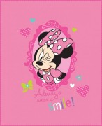 Deka ( fleece ) - MINNIE MOUSE SUNSHINE