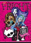 Sešit linkovaný - MONSTER HIGH