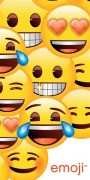 Osuška SMILEY (EMOJI)
