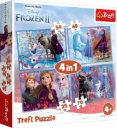 Puzzle 4 v 1 FROZEN autumn