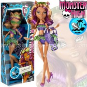 MONSTER HIGH v plavkách Clawdeen Wolf