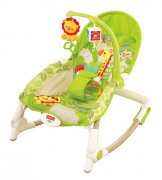 FISHER PRICE (DO 18 KG) sedátko od miminka po batole Rainforest