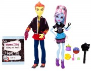 Monster high sada - Heath Burns a Abbey Bominable