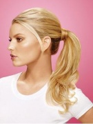 PONY Wrap-around HAIRDO Jessica Simpson