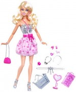 Barbie Fashionistas panenka shopping