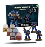 Warhammer 40, 000 Primaris Space Marine Intercessors  +  Paint