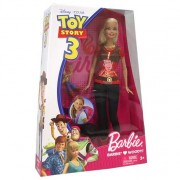 panenka Barbie  +  woody Toy Story 3