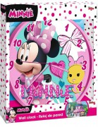 Hodiny Minnie hearts
