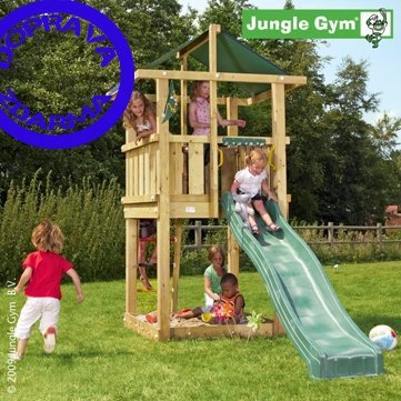JUNGLE GYM HUT > varianta dřevo