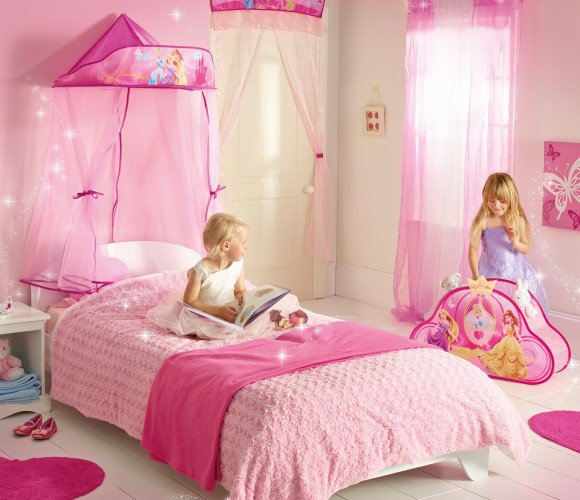 Princess Kids Bedroom Sets Interior Of Master Bedroom Newborn Boy Bedroom Ideas Bedroom For Kids: Nebesa Na Postel Princess Princezny