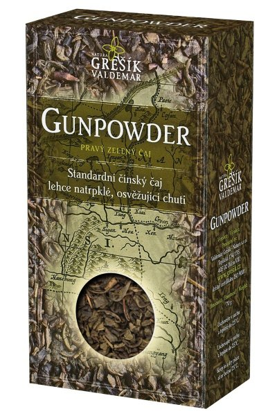 Gunpowder sypaný čaj
