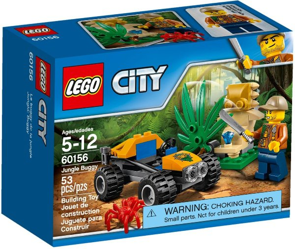 LEGO CITY 60156 - BUGINA DO DŽUNGLE
