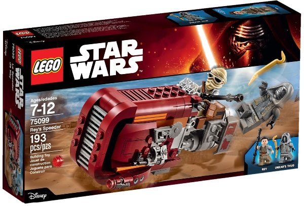 LEGO STAR WARS 75099 - REY´S SPEEDER